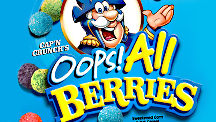 Oops All Berries Captain Crunch : Today, the weetabix video i tried to ….